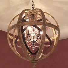 Crystal Sphere Chandelier Elegant Crystal And Metal Orb Chandelier 25 Best Ideas About Orb