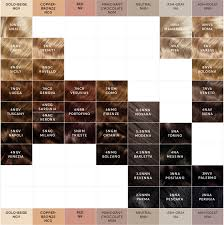 a hair color chart to get glamorous results at home madison reed