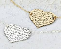 Personalized Name Necklace Sterling Silver Kids Name Necklace Etsy