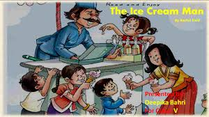 the ice cream man cbse ncert class 5 lesson explanation and