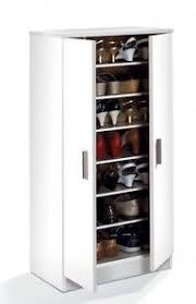 Hallway Shoe Storage Cabinet Bellini Hallway 2 Door Shoe Storage Cabinet Unit With 7 Shelves