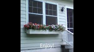 how to make an easy window sill planter youtube