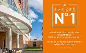 news healthcare architecture e4h architecture