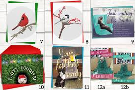 funny pitbull holiday cards boxed set of 15 funny christmas