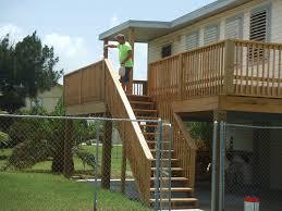 galveston deck construction and builder jamaica beach bayou vista