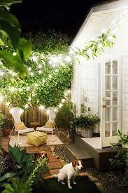 Stringing Lights In Backyard by Best 25 Mediterranean Outdoor String Lights Ideas On Pinterest