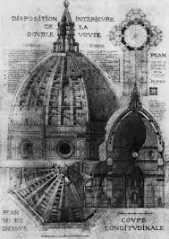 cupola s fiore santa fiore cupola schematic plan and view eug礬ne