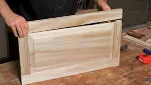 build wood kitchen cabinet doors raised panel doors on a tablesaw homebuilding