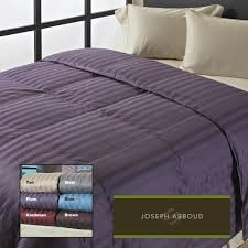 Home Classics Reversible Down Alternative Comforter Joseph Abboud Classic Stripe 400 Thread Count Oversized Down