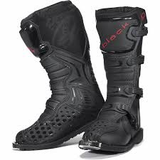 motocross bike boots black mx enigma ce approved motocross boots off road adventure pit