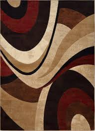 home dynamix area rugs tribeca rugs 5382 539 brown red tribeca