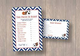 themes exquisite sports themed baby shower invitation templates