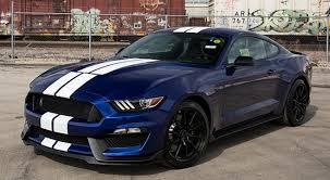 ford mustang deep impact blue car autos gallery