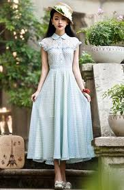 newest fashion styles for woman in their 60s new women s beautiful 1950s 60s 70s retro style polka dot chiffon