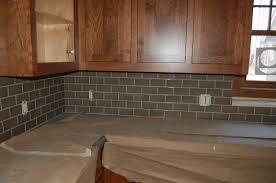 installing glass tile backsplash in kitchen glossy glass subway tile kitchen backsplash glossy glass