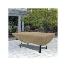 Rectangular Patio Furniture Covers Rectangular Patio Table Cover In Sand 58242 Classic Accessories