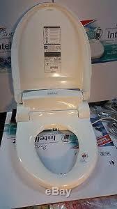 Heated Toilet Seat Bidet Intelliseat Bidet Heated Water Warm Toilet Seat Isb 200 With Remote