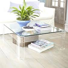 Lucite Coffee Table Ikea Lucite Coffee Tables Wisteria Disappearing Coffee Table Lucite