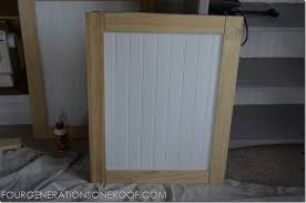 Building Kitchen Cabinet Doors Diy Built In Barn Doors Tutorial Kitchen Cabinet Doors Barn