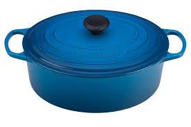 Creuset Pot Le Creuset Signature Enameled Cast Iron 6 3 4 Quart Oval French