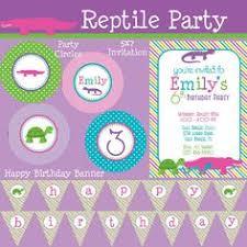 digital custom pink snakes u0026 other reptiles birthday
