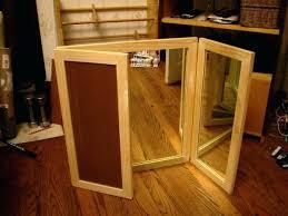 Vanity Table With Tri Fold Mirror Vanity Table With Trifold Mirror Tri Fold Mirror Bathroom Cabinet