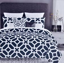 geometric pattern bedding unforgettable navy blue geometric bedding modern bed linen sheets
