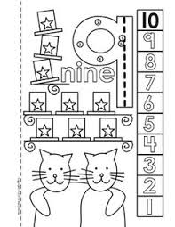 dot dot number book 1 10 activity coloring pages activities