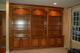 Custom Bookcase Custom Wall Unit Bookcases Artisan Custom Bookcases