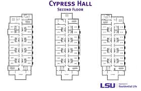 Lsu Parking Map Cypresshall2 01 Jpg