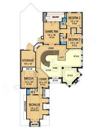 Narrow House Plans by Avalon Narrow House Plans Luxury House Plans