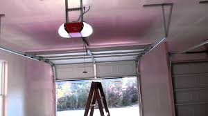 installation of garage door sears craftsman garage door opener belt driven review youtube