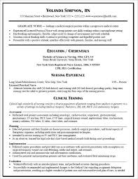 Registered Nurse Job Description Resume by Graduate Nurse Resume Example Nursing Resume New Grad Nurse