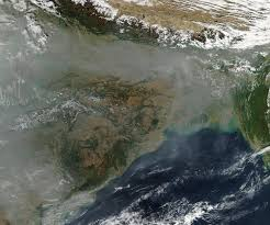 India Satellite Map by Nasa New Map Offers A Global View Of Health Sapping Air Pollution