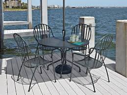 Black Wrought Iron Patio Furniture Sets Wrought Iron Patio Set Glorema