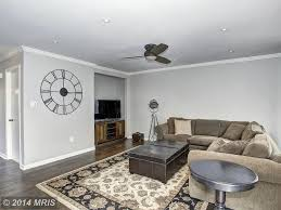 Ceiling Fan In Living Room by Traditional Living Room With Carpet U0026 Flush Light In Rockville Md