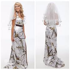 camo wedding dresses halter white camo camouflage wedding dress with veil bridal gowns