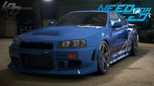 nissan gtr skyline 2015 need for speed 2015 nissan skyline gt r r34 gameplay tuning