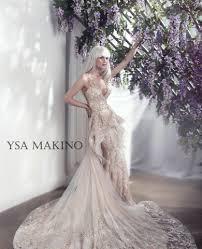 bridal designer ysa makino kleinfeld bridal
