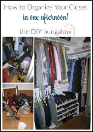 spring cleaning closet my favorite spring cleaning tips the diy bungalow