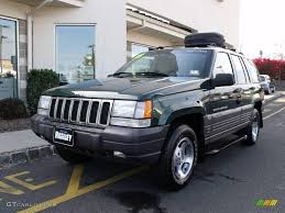 jeep grand limited 1998 1998 forest green pearlcoat jeep grand laredo 4x4