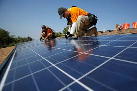 solar panels on roof more consumers install solar panels at home hoping to save money