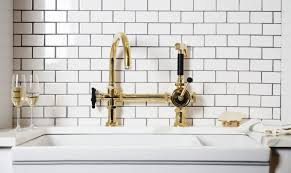 brass kitchen faucets kitchen unlacquered brass kitchen faucet for your kitchen design