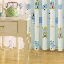 Baby Curtains Blue Beautiful Living Room Curtains For
