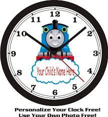 amazon thomas train wall clock child u0027s free
