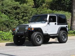 2004 jeep wrangler sport purchase used 2004 jeep wrangler sport 4 lift in pasadena