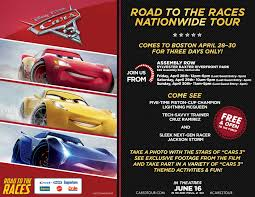 Assembly Row Map Cars 3 Road To The Races Tour 04 28 17