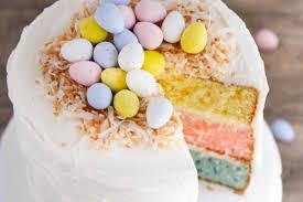 coconut easter eggs easter egg layered cake i heart nap time