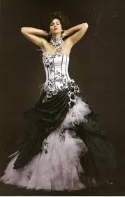 robe de mari e noir et blanc robe de mariée en noir et blanc mariage toulouse