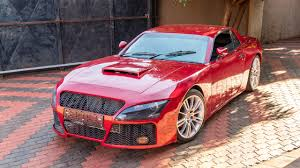 pink luxury cars man from south africa spends 16 700 to build his childhood dream